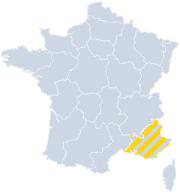 Vakantiehuizen Provence-Alpes-Côte d'Azur op de kaart