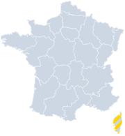 Vakantiehuizen Corsica op de kaart
