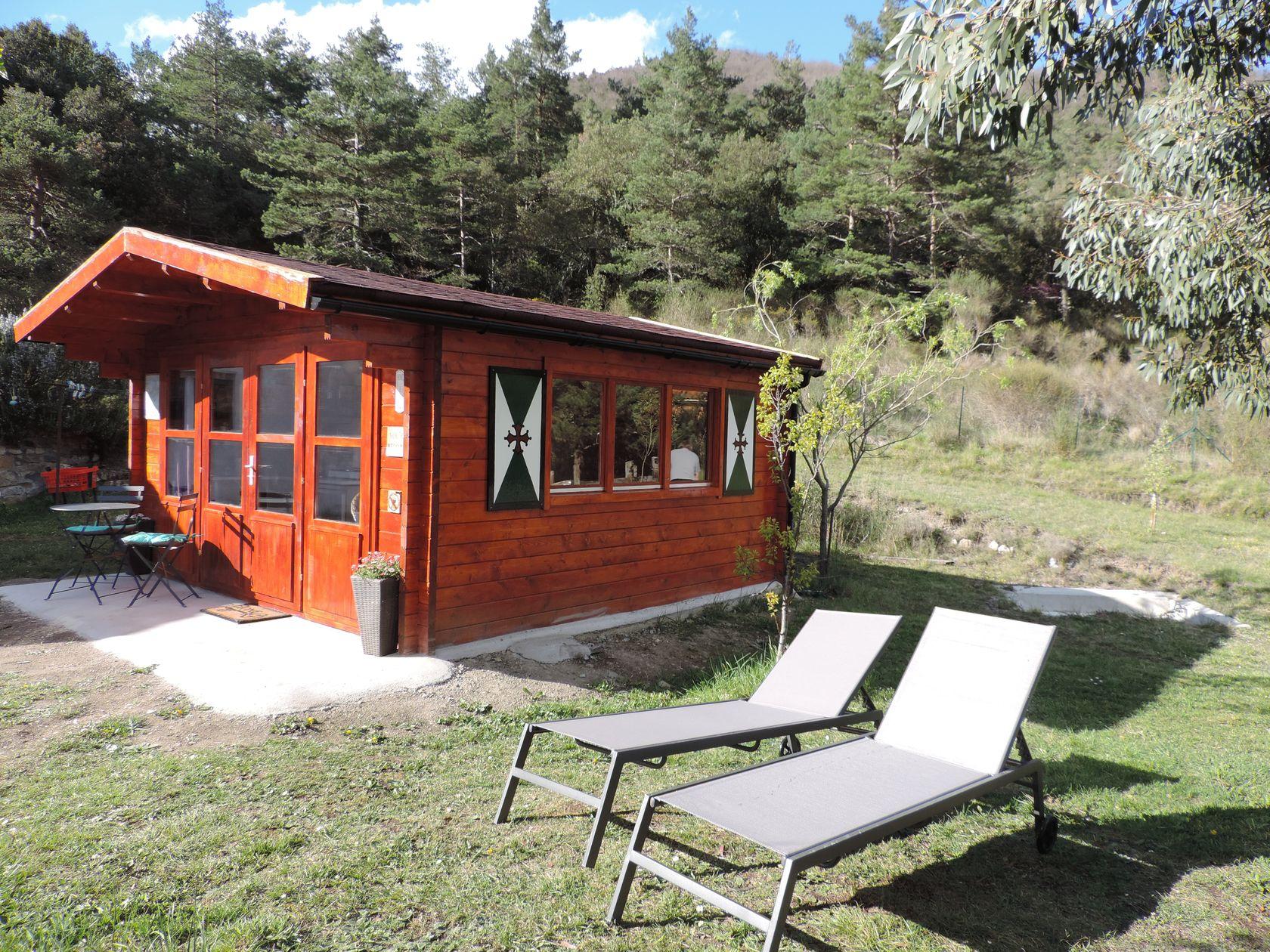 "Tiny-House ""La Colombe"" bij Le Petit Ermite"