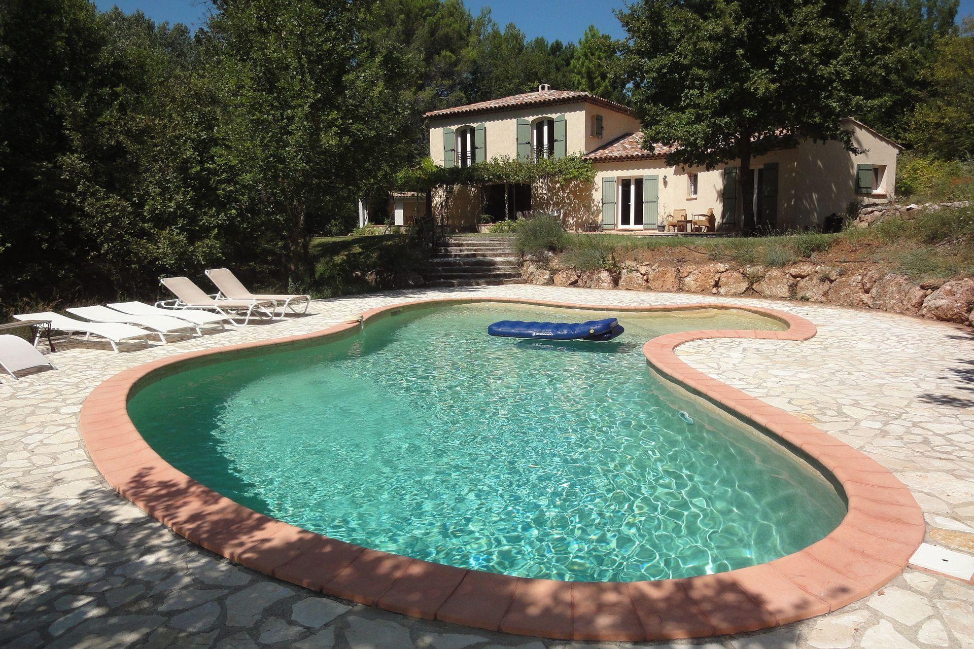 Bekijk vakantiehuis waterballet in var provence alpes c te d 39 azur - Pergola provencaalse ...