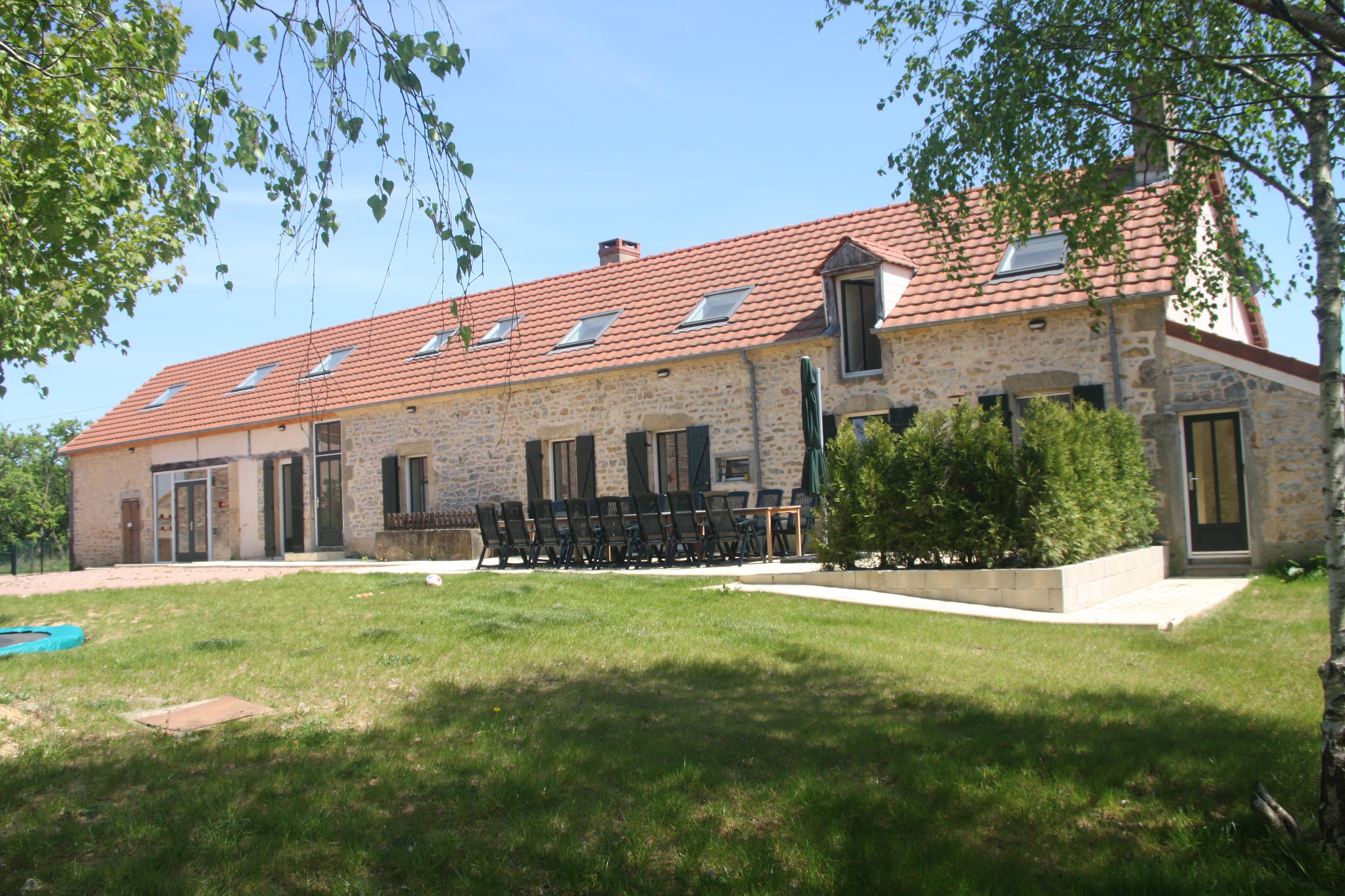 Bekijk vakantiehuis Domaine de la Croix in Nièvre - Bourgogne ...