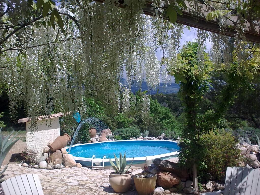 Ferienhaus les oiseaux ciseaux in vaucluse provence alpes côte d