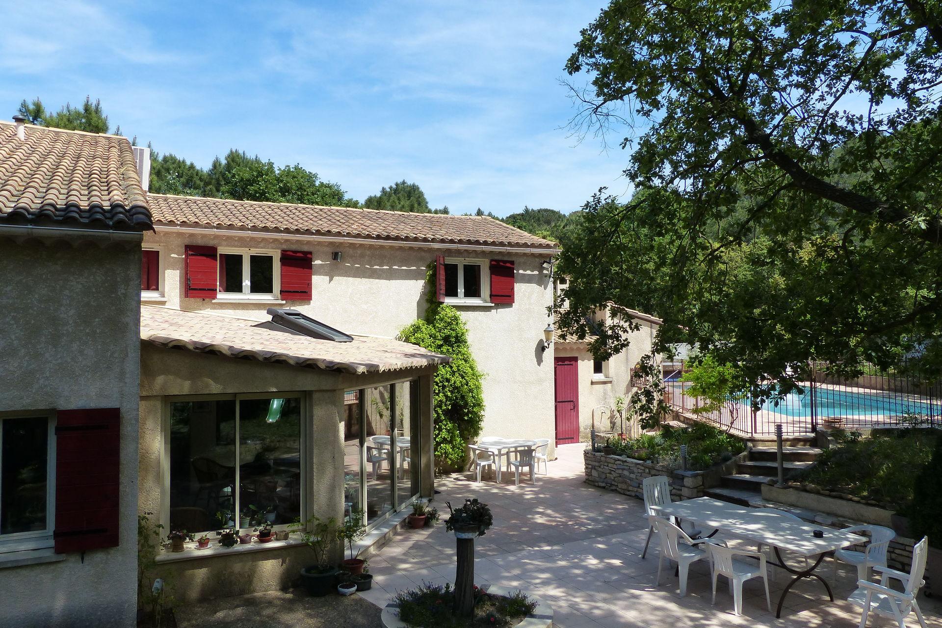 Bekijk vakantiehuis cayenne in gard languedoc roussillon - Provencaalse terras ...