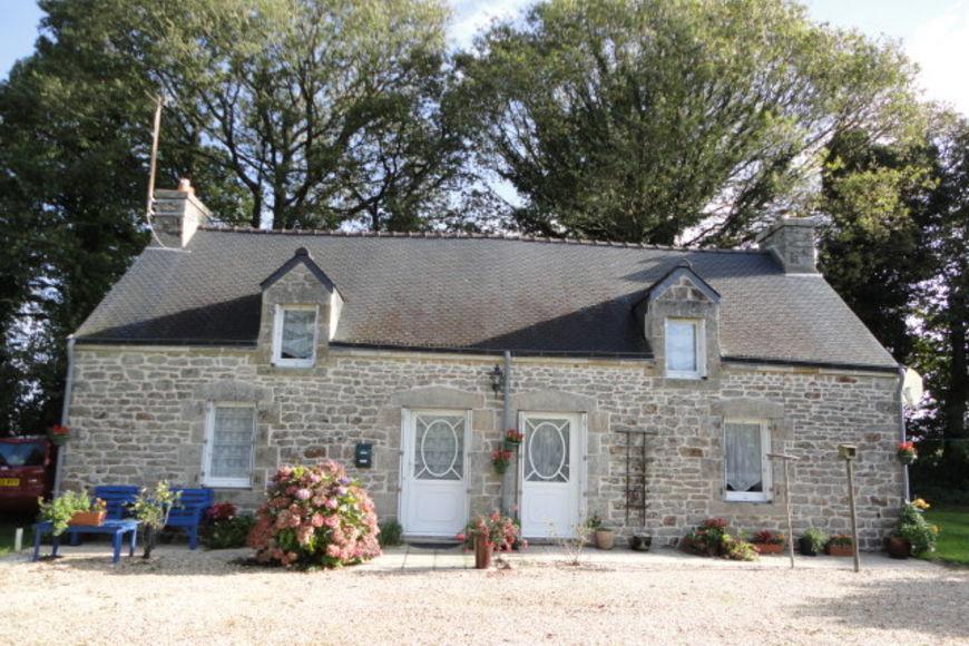 Acheter 39 maison morhiban traditionnelle en pierre 39 dans la for Acheter une maison en bretagne nord