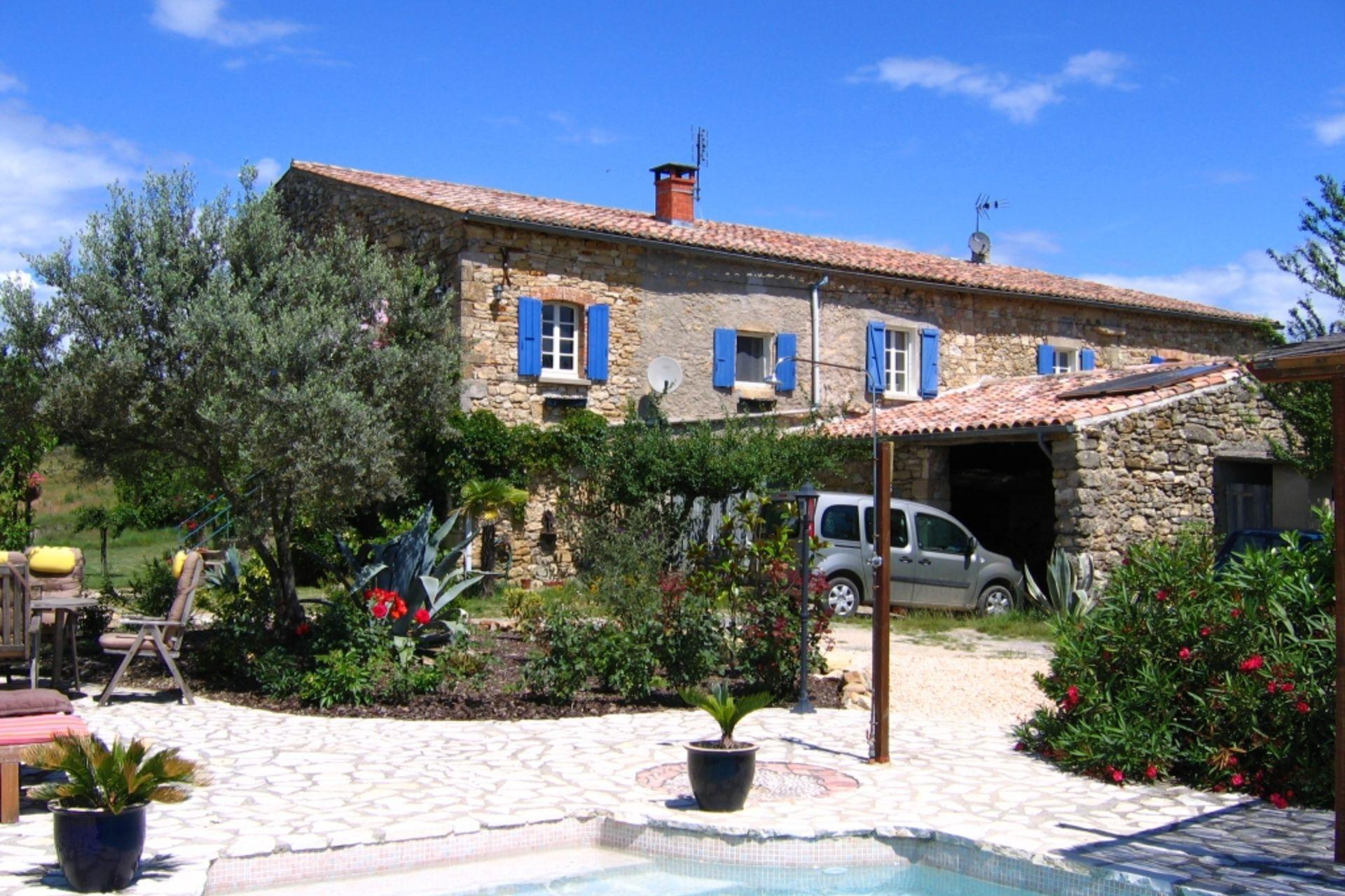 Bekijk bed and breakfast 't Cathshuis in Ardèche  RhôneAlpes  Gitesnl # Alpe Wasbak_234112