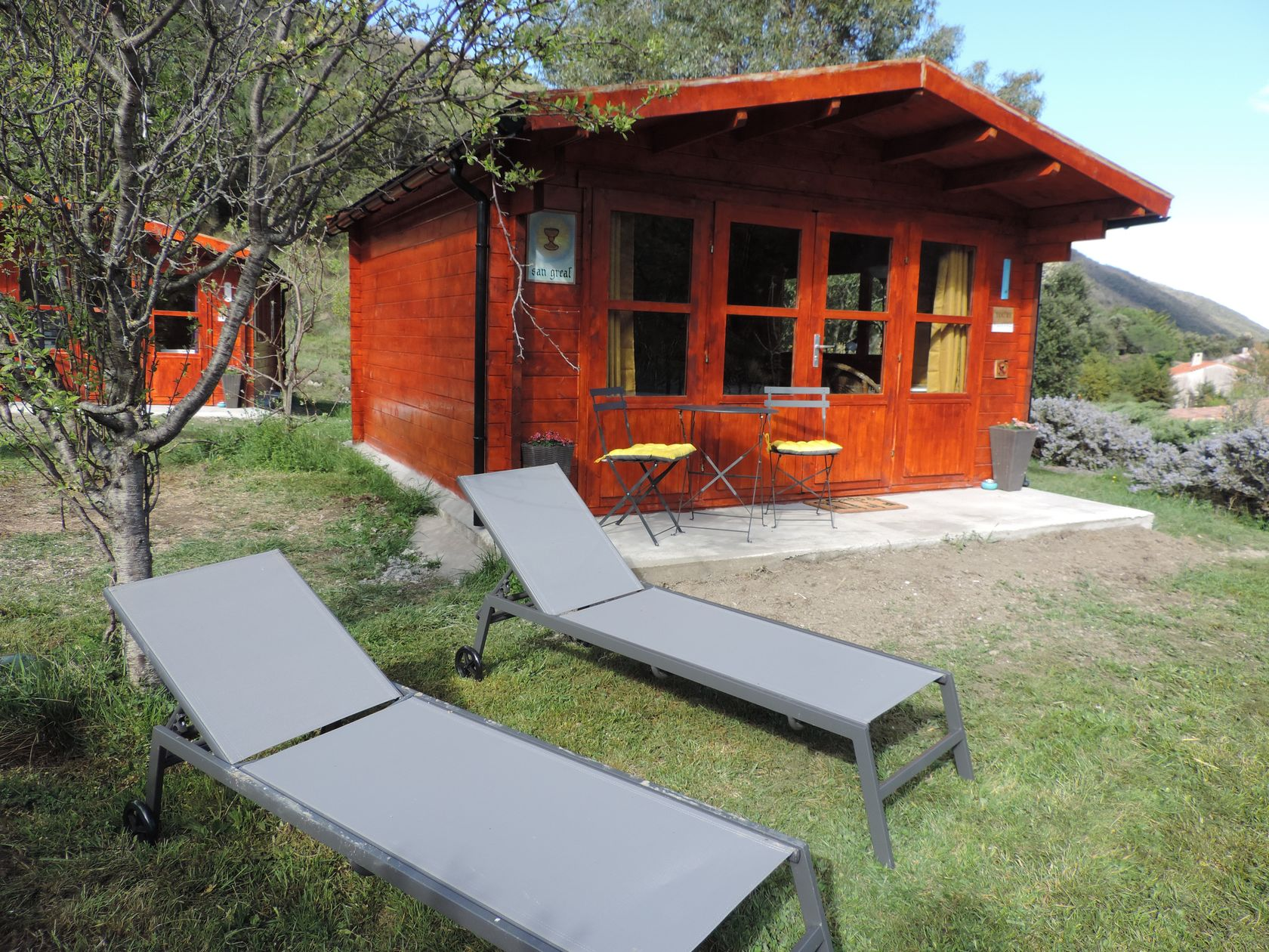 "Tiny-House ""San Greal"" bij Le Petit Ermite"
