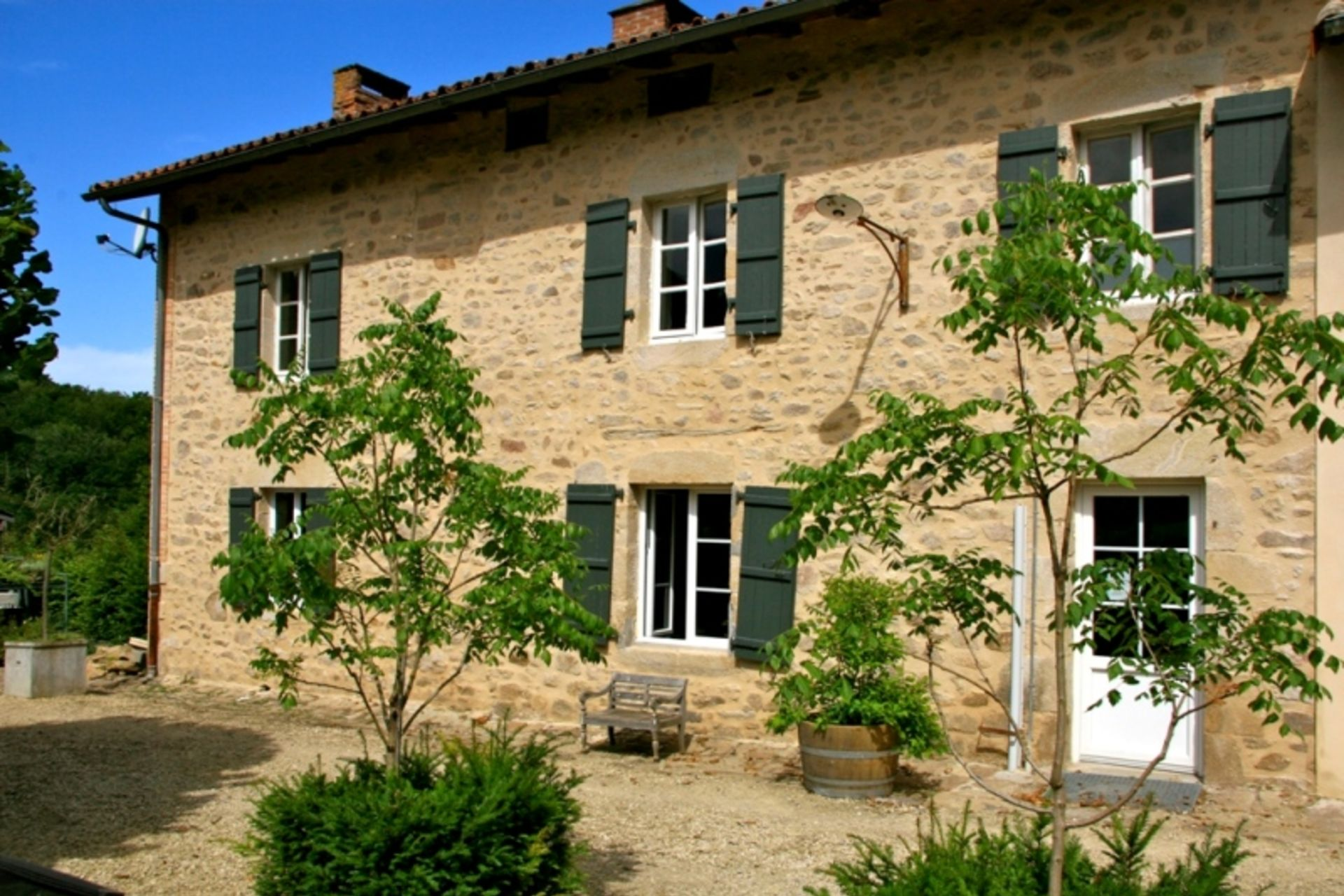 Bekijk bed and breakfast La Petite Ecoli¨re in Haute Vienne